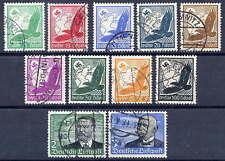 Allemagne 1934 airmail définitif set used