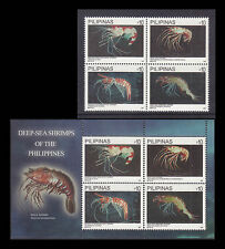 Philippines Stamps 2013 MNH Marine Life Shrimps complete set