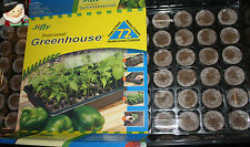 5 Jiffy  Professional Greenhouse Seed Starter 72 peat  homegrown