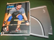 Mava XXL 7mm Pair Knee Compression Support Sleeves New in Box