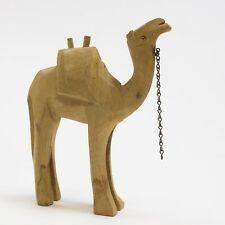 WOOD VTG NATIVITY Figure Crèche Animal Camel Hand Carved Replacement Piece