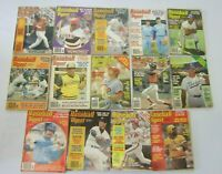 Baseball Digest lot MLB all 14 different (1978 + 1979)