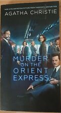 Murder on the Orient Express by Agatha Christie-MOVIE TIE-IN Cover, 2017, P/B