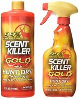Wildlife Research Scent Killer Gold Spray Combo Pack 44-Ounce