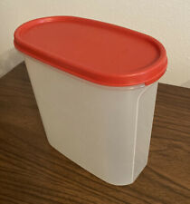 """Tupperware """"Modular Mates"""" Oval Storage Container w/Lid #1613"""