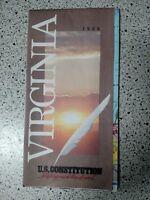 1989 Virginia Vintage Road Map - Used