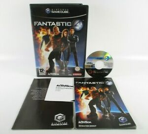 Fantastic 4 Nintendo GameCube Complete With Manual