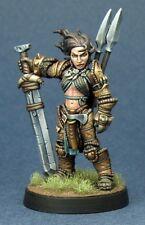 Amiri Human Barbarian Reaper Miniatures Pathfinder D&D RPG Fighter Warrior Melee
