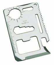 New 1pc 11 Function Credit Card Size Survival Pocket Tool US FAST FREE SHIPPING
