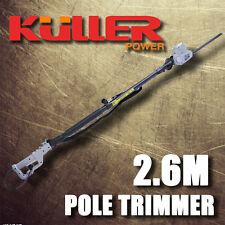 New KULLER Electric 450W telescope longreach Pole Hedge Trimmer Hedger Garden