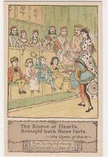 Randolph Caldecott, The Knave of Hearts Art Postcard, B612