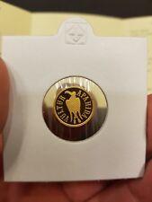 ROMANIA 100 Lei 2003 PROOF Gold COIN Romanian Rumänien UNC Apahida Eagle RARE