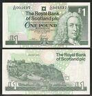 SCOZIA / SCOTLAND - 1 Pound 2000 UNC Pick 351e