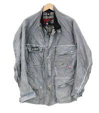 Belstaff Funnel Neck Zip Biker Jackets for Men