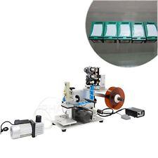 Semi Auto Flat Labeling Machine with Code Printer MT-60M  For Square 220V