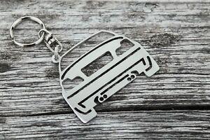 BMW M3 CSL GTR CS keychain M power Motorsport stainless steel keyring