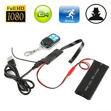 FULL HD 1080P DIY Module SPY Hidden Camera Video MINI DV DVR Motion Remote 32GB