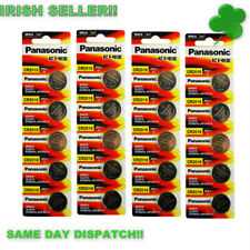 CR2016 3V Lithium Coin Button Cell Battery 5 x Panasonic