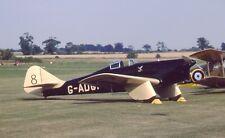 Original 35mm Aircraft slide Miles M.2L Hawk Speed Six #55