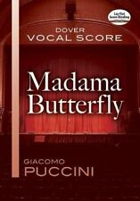 Madama Butterfly: Vocal Score by Puccini, Giacomo 9780486780375 -Paperback