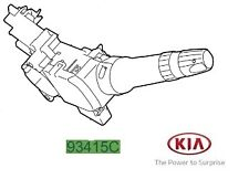 Genuine Kia Ceed 2016-2017 Direction Indicator Switch - 93410A2631