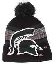 Zephyr Hats NCAA Michigan State University Spartan Knit Beanie Hat Cap