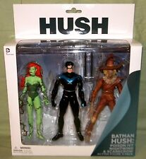 DC Collectibles POISEN IVY NIGHTWING SCARECROW Hush Series 3-pack Figure 7""