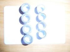 4 X BRAND NEW OLD STOCK THICK QUALITY STEEL  10MM SPACERS FROM 1992