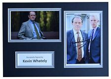 Kevin Whately Signed Autograph A4 photo display Lewis TV Memorabilia AFTAL & COA