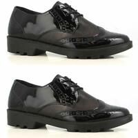 Ladies New Brogue Cushioned Hospital Nurse Shoes Women Comfy Work Lace Up Boots