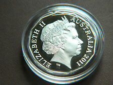 2011 AUSTRALIAN PROOF 50 CENT COIN IN A CAPSULE.