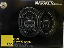 "Kicker DS693 2005 3-Way 6"" x 9"" Car Speaker"