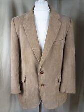 Jordache 100% Cotton Corduroy Jacket Tan Brown 44R EXCELLENT CONDITION