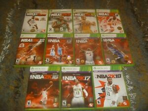 NBA 2K Basketball Games (Microsoft Xbox 360) Tested Works Great With Case