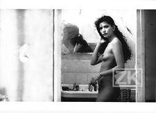 SYLVANA de FARIA Bukowski NU Miroir Film LUNE FROIDE Bouchitey Photo 1991