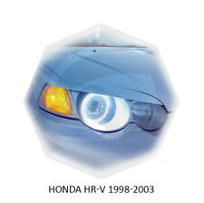 For Honda HR-V Eyebrows Eyelids Eye Line Headlight Cover Unpainted 1998-2003 MY