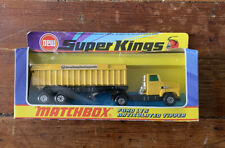 Matchbox Super Kings K-18 Ford LT5 Articulated Tipper - US Steel - Mint