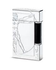 S.T. Dupont Ligne 2 Vitruvian Man Lighter Premium Edition, 16162 (016162) NIB