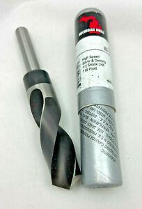 """MCT 1424R Morse 17032 17//32/"""" Dia Silver /& Deming Drill 1//2/"""" Shank USA A14"""