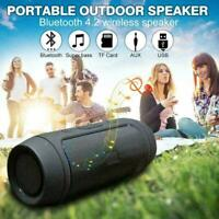 HOT Bluetooth Speaker Wireless Outdoor Stereo Bass FM USB Loudspeaker Radio S2D6