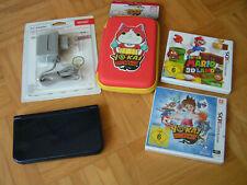 New Nintendo 3DS XL blau inkl. neue Extras, 8GB microSD und zwei 3DS Spielen!