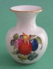HEREND China BOUQUET FRUITS FLOWERS Porcelain Vintage Tsar Nicholas AMPHORA VASE