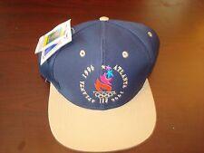 1996 ATALANTA OLYMPIC OLYMPICS LOGO7  SPLASH VINTAGE 90'S HAT CAP  SNAPBACK