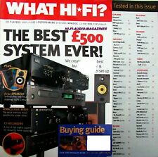 WHAT HI-FI PIONEER PDR-W739 YAMAHA CDR-S1000 PHILIPS CDR-770 CYRUS 5 ROTEL RB981