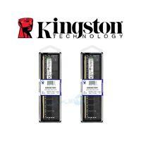 2X BANCO MEMORIA RAM COMPUTER DESKTOP DDR4 4GB KINGSTON KVR24N17S8/4 2400MHZ.