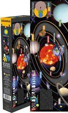 système solaire 1000 pièces mince Puzzle 300mm X 910MM (NM)