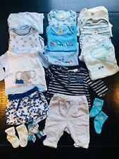Babykleidung Paket 62-68 Junge, ZARA, Esprit, DM, Hema, TopoMini, Bodies, Shorts