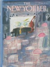 COVER ONLY ~The New Yorker magazine ~January 20, 1986~ J J Sempe Sempé Jazz Bar