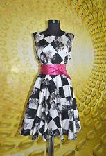 Cotton Blend Plus Size Cocktail 50's, Rockabilly Dresses for Women