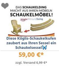Ces köglis bascule évoque de votre fauteuil un schaukelsessel ♂️